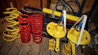 Как заменить передние пружины без нарушения развала схождения ВАЗ 2115,2114,2113,2199,2109,2108