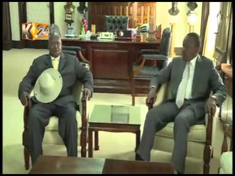 Pres. Museveni, Pres. Kenyatta in talks over proposed Uganda-Kenya oil pipeline