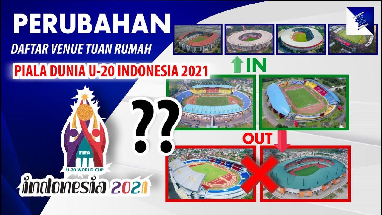 Terjadi Perubahan Susunan Tuan Rumah Piala Dunia U20 Indonesia 2021, Stadion Pakansari Tercoret??