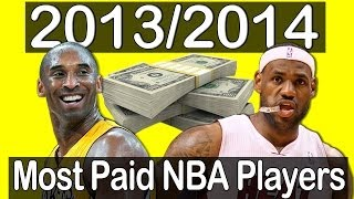 Top 20 Most Paid NBA Players - 2013/2014 Season