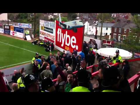 ECFC Siege Army takes on the Blades on the Big Bank!