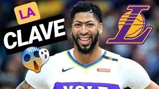 Los LAKERS ya saben la CLAVE para FICHAR a ANTHONY DAVIS | NBA en español