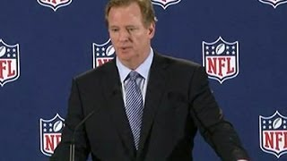 "NFL Goodell: ""This Is a Societal Issue"""