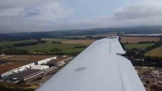 Cirrus SR22 N151CG landing at Goodwood/Chichester Airport(QUG)(EGHR)
