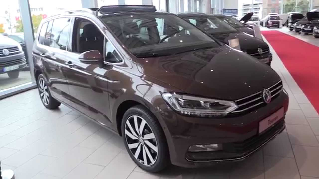 2017 volkswagen touran in depth review interior exterior youtube. Black Bedroom Furniture Sets. Home Design Ideas