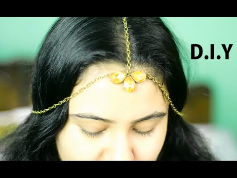 DIY India Head gear/ matha patti {Delhi Fashion Blogger}