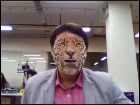 Face Tracking in Unity3D (OpenCV)
