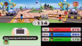 Wii Party U - Lost-and-Found Square - 3 Players