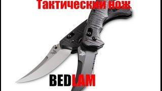 BECHMADE BEDLAM (Тактический складной нож) в разрешение 4К