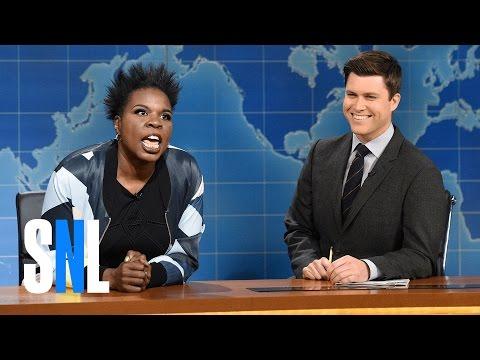Weekend Update: Leslie Jones on Hidden Figures - SNL