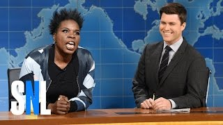 Weekend Update: Leslie Jones on Hidden Figures - SNL