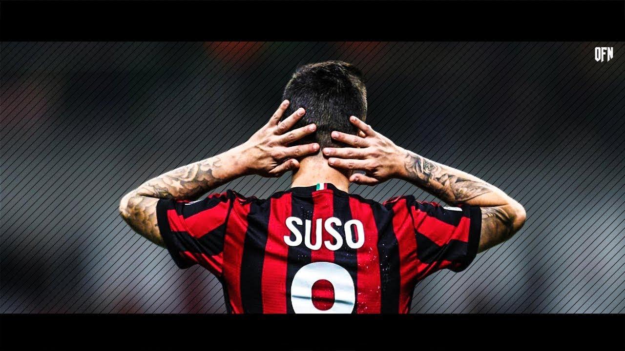 Suso Goals Skills Ac Milan