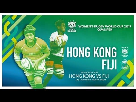 Hong Kong vs Fiji (Women's Rugby Word Cup Qualifier)