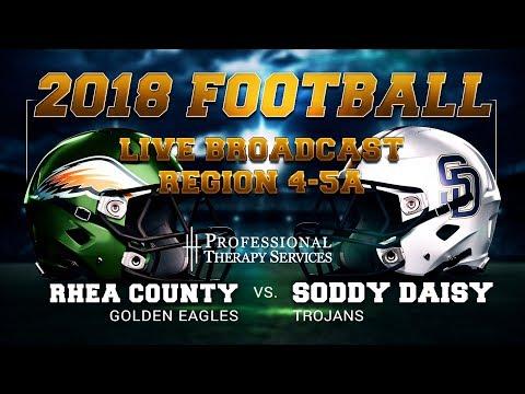 2018 Football - Rhea County at Soddy Daisy