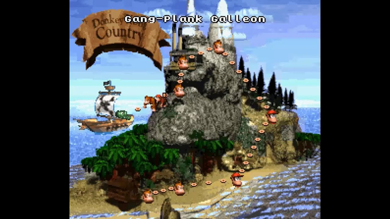 Image result for Youtube Longplay Donkey Kong Country
