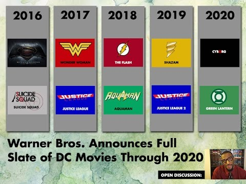 Open Discussion DC Movie Universe Revealed & Carrie