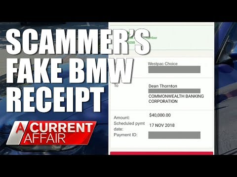 Scammer's use Airbnb to steal BMW | A Current Affair Australia