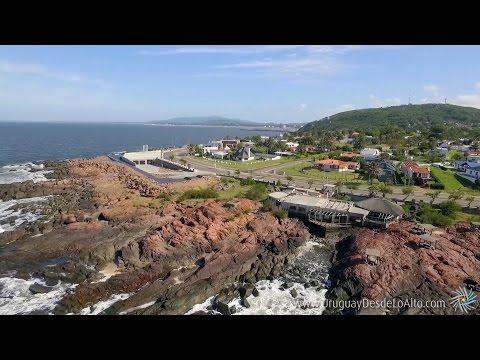 Balnearios próximos a Piriápolis, Maldonado, Uruguay desde lo Alto
