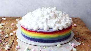 How to make a Rainbow Cake Recipe
