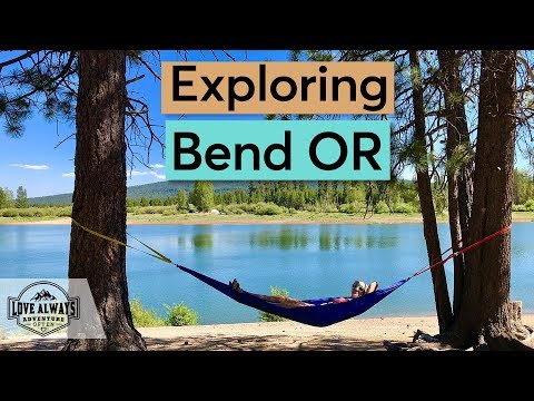 How We Explore Bend Oregon | Full Time Skoolie Family Adventure