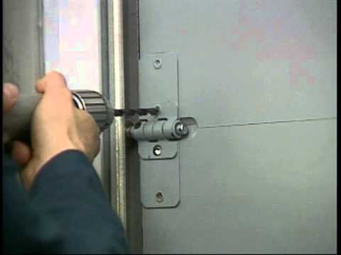 Whiting Door General Purpose Roll-Up Door - Roller Change & Whiting Door General Purpose Roll-Up Door - Roller Change - YouTube
