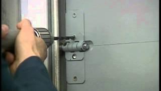 Whiting End Hinge Roll up Truck Door Trailer Door