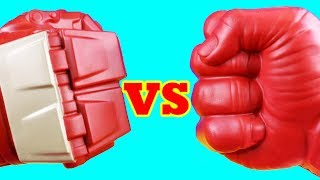 Red Hulk Team Vs Hulkbuster Team ! Mega Battle ! Superhero Toys