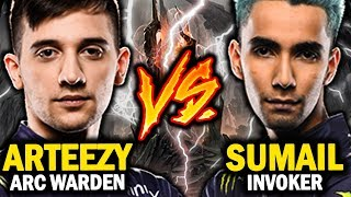 Evil Geniuses Wars | Sumail Invoker vs Arteezy Arc Warden - Crazy Epic Game! Who Will Be The Winner?
