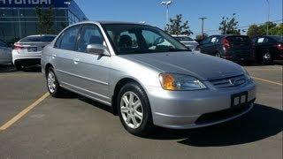 2003 Honda Civic Start up, Walkaround and Vehicle Tour