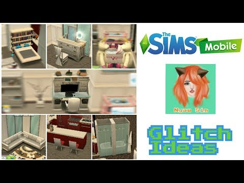 The Sims Mobile House Design Glitch Ideas Youtube