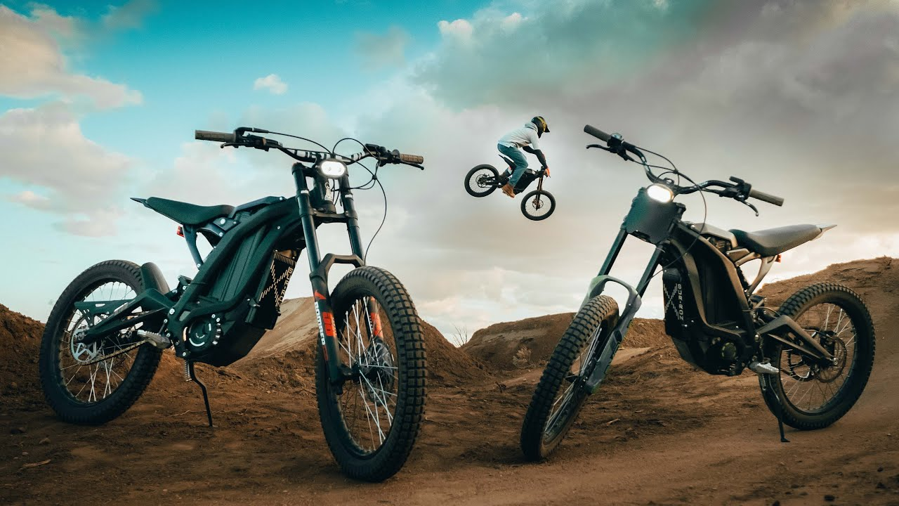 The future is here - Sur Ron E Dirt Bikes - YouTube