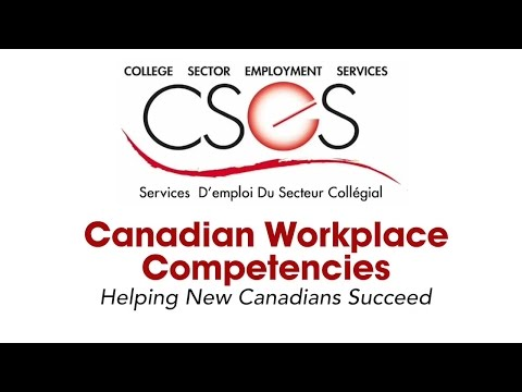 Canadian Workplace Competencies