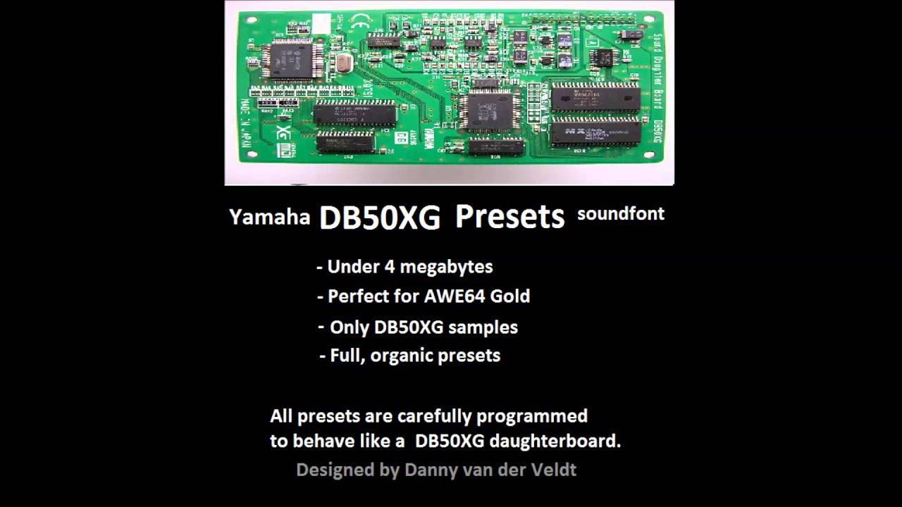 Yamaha xg soundfont download