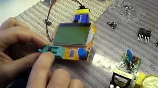 Як перевірити оптрон з допомогою тестера компонентів Віктор Сочі