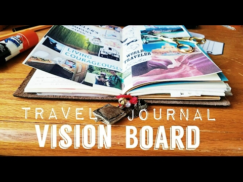 Traveler's Notebook- DIY Vision Board