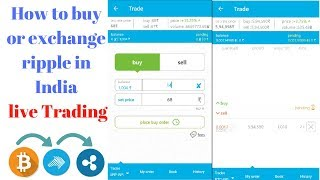 How to buy ripple in india||how to buy ripple coin||How to buy ripple from zebpay live