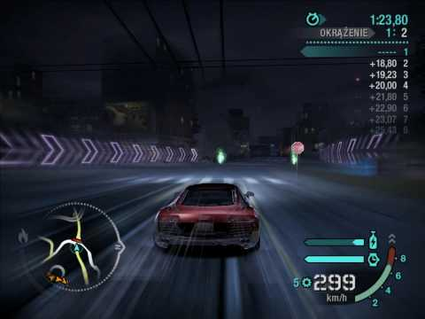 Need for Speed Carbon Audi Le Mans Quattro Gameplay