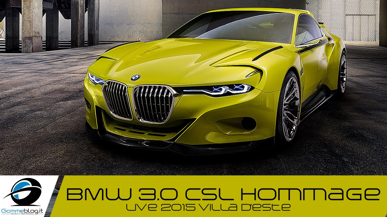 bmw 3 0 csl hommage exterior interior design youtube. Black Bedroom Furniture Sets. Home Design Ideas