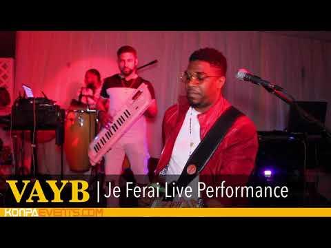 Vayb - Je Ferai Live Video Performance in WPB [ 6-10-18 ]