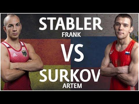 Frank Stäbler (GER) df. Artem Surkov (RUS) 7 - 1 | German Grand Prix 2019