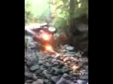 Atv deadly crash split skull