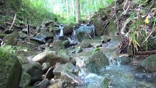 Relaks odgłosy natury medytacja szum górskiego strumienia super dla Dzieci