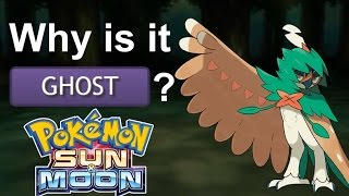 Why Decidueye is Ghost Type [Pokemon Sun and Moon Theory and Reaction] | GatorEX