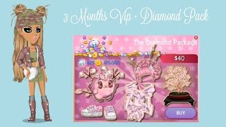 Moviestarplanet- 3 Month Star VIP + Diamond Pack & Level 20
