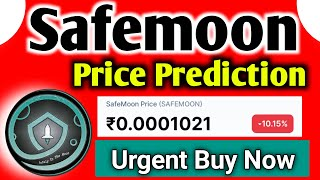 Safemoon Price prediction | Safemoon coin news today | Cryptocurrency news today