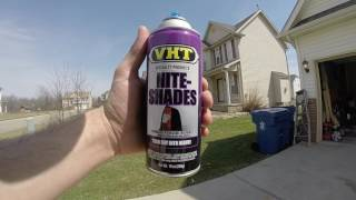 Tinting your car's Taillights using VHT Nightshades