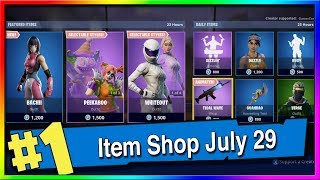 Fortnite Item Shop NEW Bachii Skin! July 28th, 2019 (Fortnite Battle Royale)