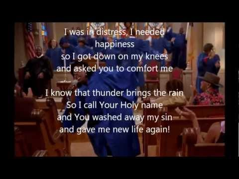 """Rain Down"" w/lyrics -The Fighting Temptations Soundtrack (HD)"