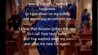 """Rain Down"" w/lyrics -The Fighting Temptations Soundtrack (HD)"