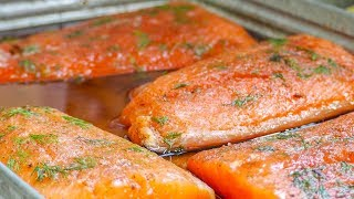 How to Smoke  the BEST Salmon at Home on the Weber Smokey Mountain
